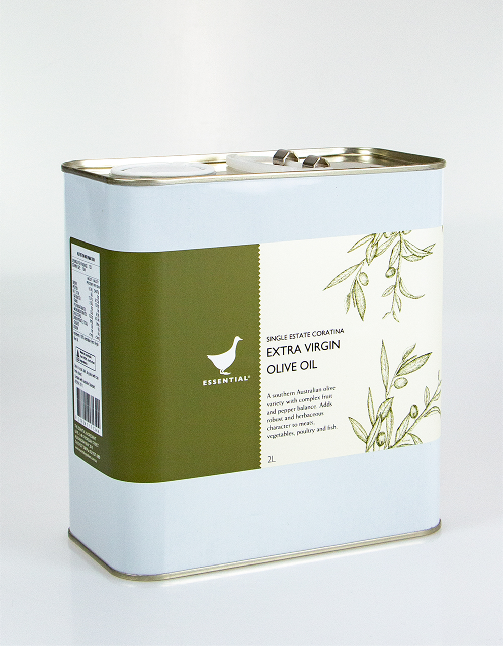 The Essential Ingredient Coratina Extra Virgin Olive Oil